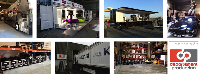 Logistique événementielle