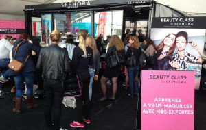 Beauty Class @ The Color Run Paris 2015 - SEPHORA